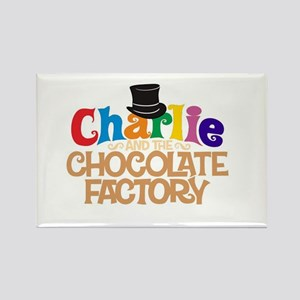 charlie and the chocholate factory Rectangle Magne