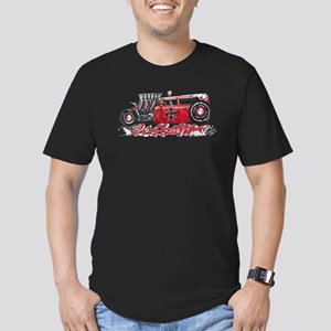 Red Baron Hot Rod BL Men's Fitted T-Shirt (dark)