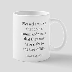 Revelation 22:14 Mug