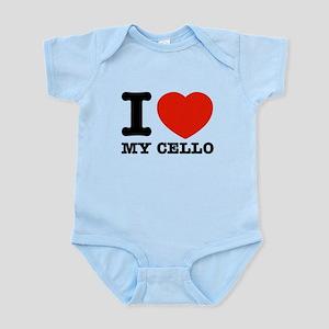 I Love My Cello Infant Bodysuit