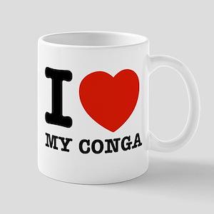 I Love My Conga Mug