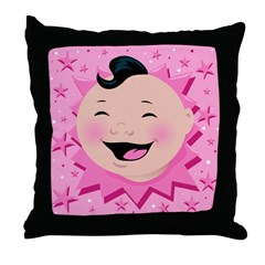 Gay Little Baby Throw Pillow