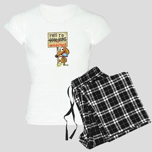 Free Puppy Women's Light Pajamas