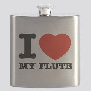 I Love My Flute Flask