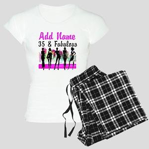 HAPPY 35TH BIRTHDAY Women's Light Pajamas