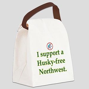 Husky Free Northwest Canvas Lunch Bag
