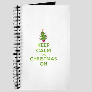 Keep calm and christmas on Journal