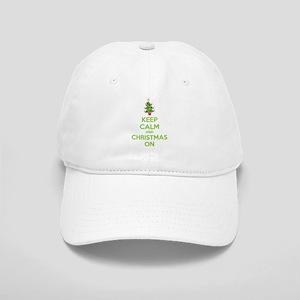 Keep calm and christmas on Cap
