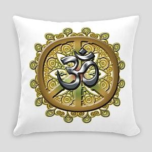 OM PEACE MANDELA Everyday Pillow