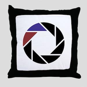 Aperture LOGO Throw Pillow