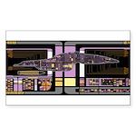 Intrepid Class MSD Sticker (Rectangle 10 pk)