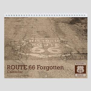 Route 66 Forgotten Wall Calendar