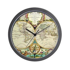 World map wall clocks cafepress gumiabroncs Gallery