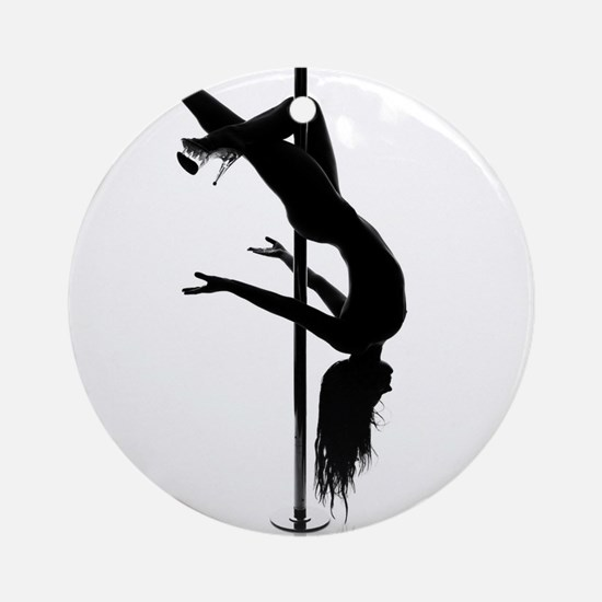 pole dancer 3 Ornament (Round)