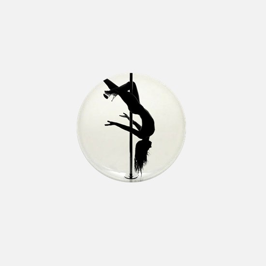 pole dancer 3 Mini Button