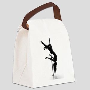 pole dancer 3 Canvas Lunch Bag