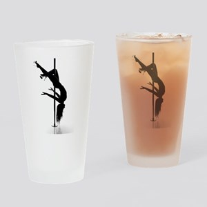 pole dancer 3 Drinking Glass