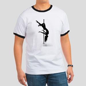 pole dancer 3 Ringer T