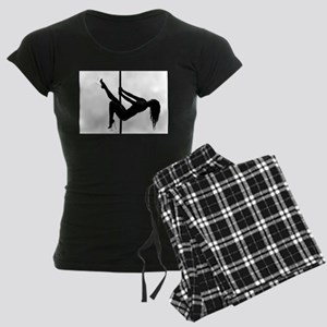 pole dancer 4 Women's Dark Pajamas