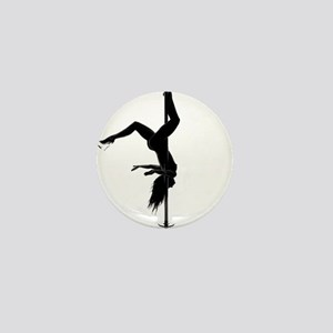 pole dancer 5 Mini Button
