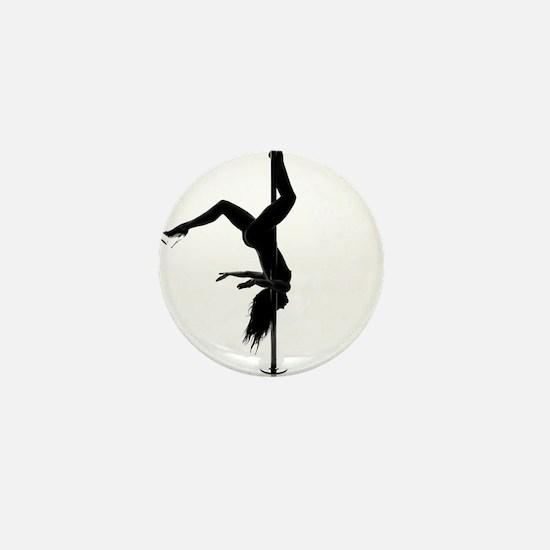 pole dancer 5 Mini Button