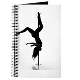 Pole dance Journals & Spiral Notebooks