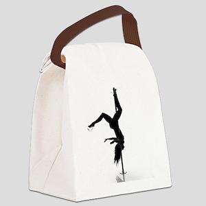 pole dancer 5 Canvas Lunch Bag