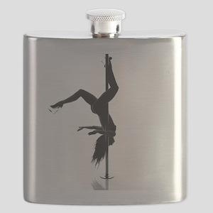 pole dancer 5 Flask
