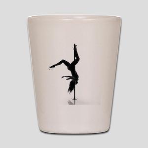 pole dancer 5 Shot Glass