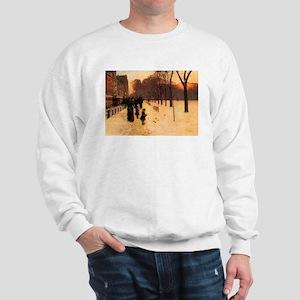 Childe Hassam Boston In Twilight Sweatshirt