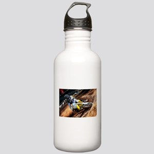 motorcycle-off-road Stainless Water Bottle 1.0L