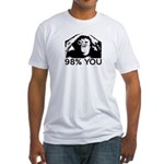 Evolution, Chimp: 98% You Fitted T-Shirt