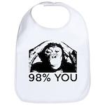Evolution, Chimp: 98% You Bib