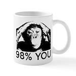 Evolution, Chimp: 98% You Mug