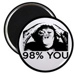 Evolution, Chimp: 98% You Magnet