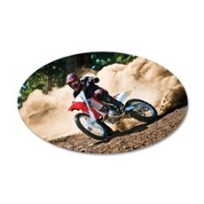 motorcycle-off-road Wall Decal