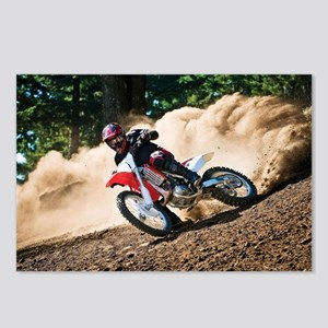 motorcycle-off-road Postcards (Package of 8)