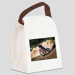 motorcycle-off-road Canvas Lunch Bag