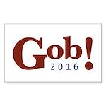 Gob! 2016 Sticker (Rectangle 10 pk)