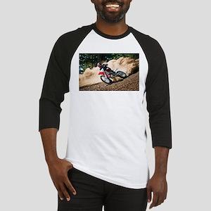 motorcycle-off-road Baseball Jersey