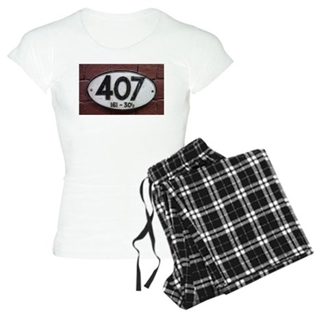Railway sign 407 Women's Light Pajamas