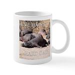 Hard Day Hippos - Mug