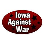 Iowa Against War Bumper Sticker