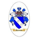 Ajaenman Sticker (Oval 50 pk)