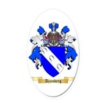 Ajzenberg Oval Car Magnet