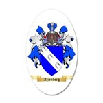 Ajzenberg 35x21 Oval Wall Decal