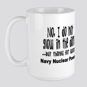 Navy Nuclear Power Large Mug
