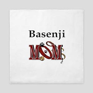 Basenji Mom Queen Duvet