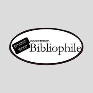 Registered Bibliophile Patches