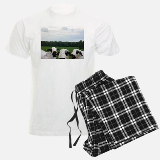 Super Hero Sheep Pajamas